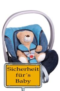 Teddy im Kindersitz - Sicherheit