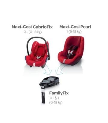 Maxi-Cosi Cabriofix Babyschale 0+ (0-13 kg) - 7