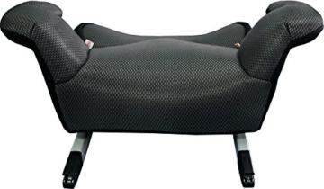 Phenix Edi-Fix Autositzerhöhung Isofix Befestigungssystem, Gruppe II und III, 15-36 kg, Phenix, ECE 44/04 geprüft, mesh bezug, grau - 3