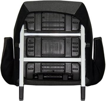 Phenix Edi-Fix Autositzerhöhung Isofix Befestigungssystem, Gruppe II und III, 15-36 kg, Phenix, ECE 44/04 geprüft, mesh bezug, grau - 4