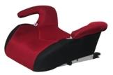 Phenix Edi-Fix Autositzerhöhung Isofix Befestigungssystem, Gruppe II und III, 15-36 kg, Phenix, ECE 44/04 geprüft, mesh bezug, rot - 1