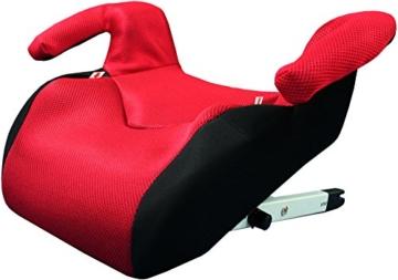 Phenix Edi-Fix Autositzerhöhung Isofix Befestigungssystem, Gruppe II und III, 15-36 kg, Phenix, ECE 44/04 geprüft, mesh bezug, rot - 2