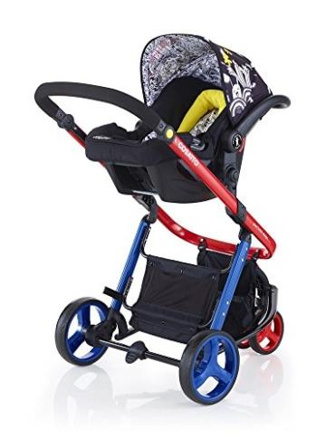 Cosatto Hold 0+ Autositz auf Gestell mit Rädern